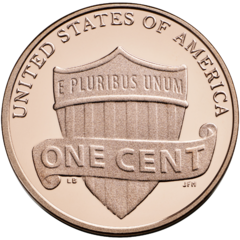 Us one cent rev