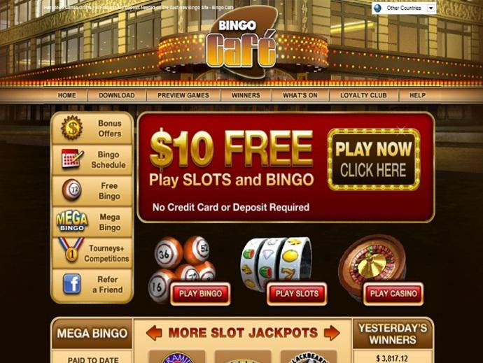 Bingo Cafe My Account