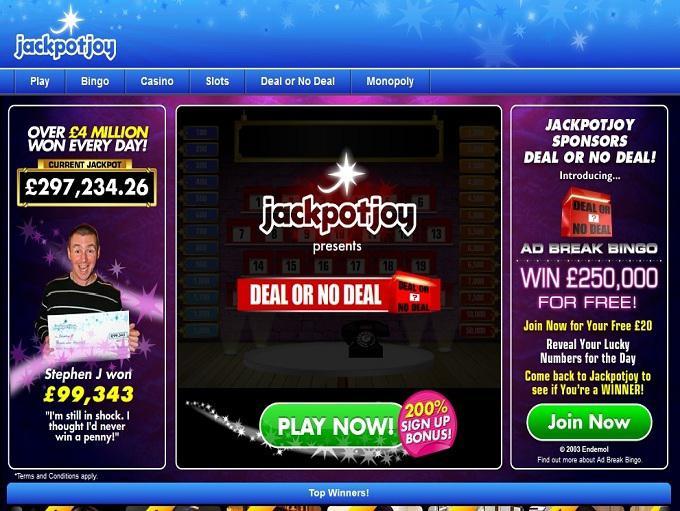 Jackpotjoy Birthday Bonus