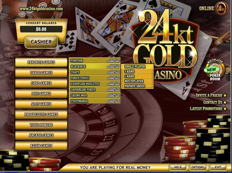 24kt gold casino no deposit bonus cocopah casino somerton