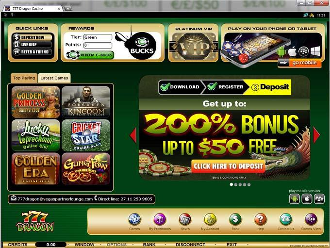 777 dragon online casino employee lockers with mail slot