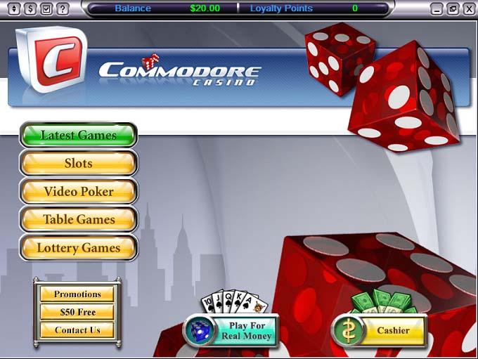 Casino commodore hoyle casino games 2007
