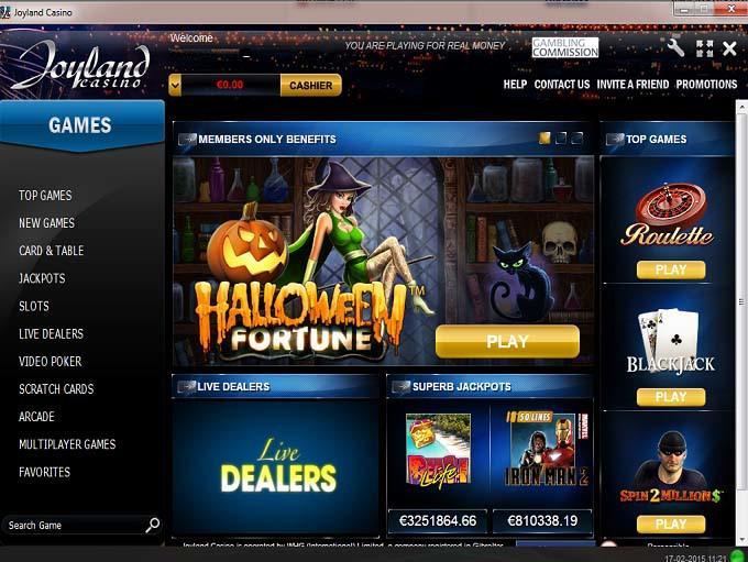 Joyland Casino Gutscheincode
