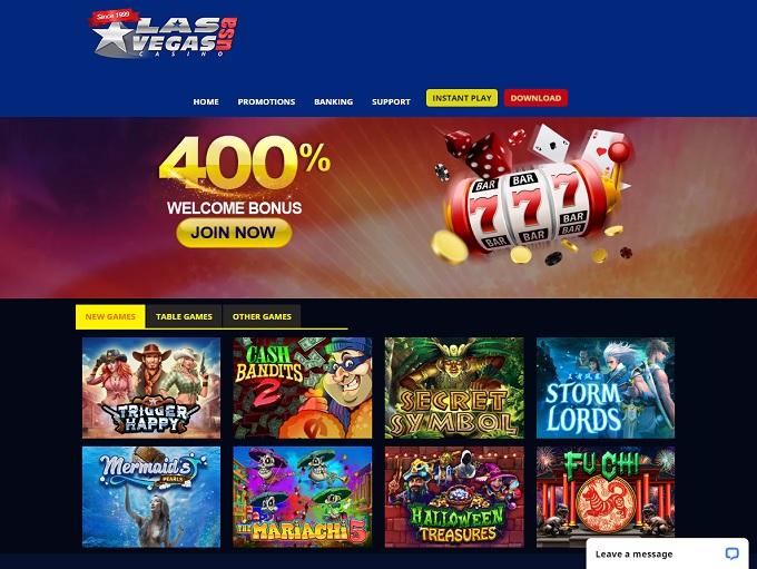 Las Vegas Usa Casino 25 Exclusive No Deposit Bonus