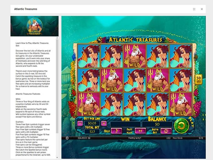 Bovada Casino - US friendly!