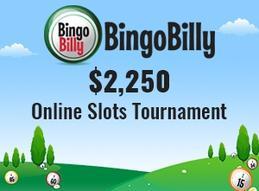 Slots Tournament Worth 2 250 Happening At Bingo Billy
