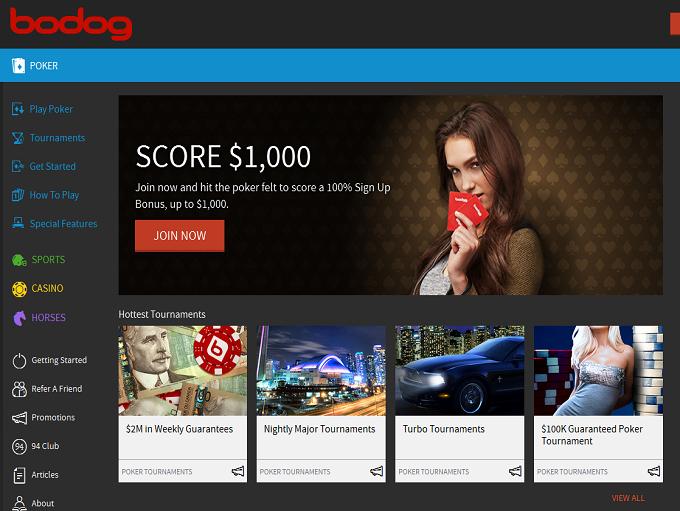 Bodog Bodog Online Poker