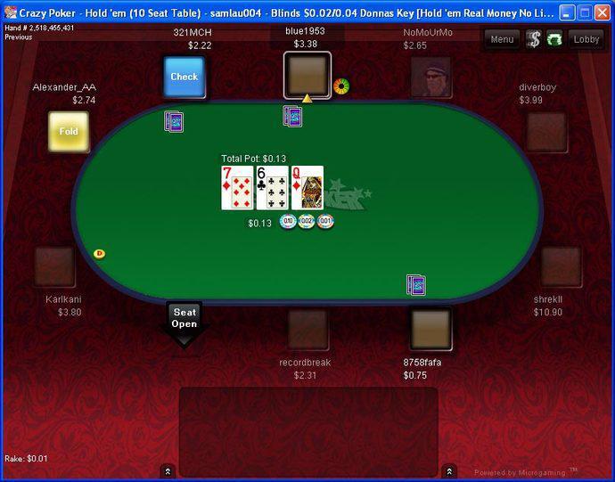 Crazy Poker Crazy Online Poker