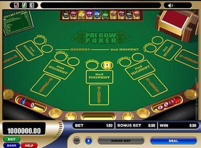 Play pai gow poker online for free choctaw casino poker