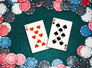 Blackjack Splitting Eights