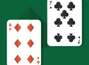 Playing Pocket Seven-Six and Below in Texas Holdem