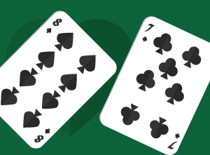 Playing Pocket Eight-Seven in No-Limit Texas Holdem