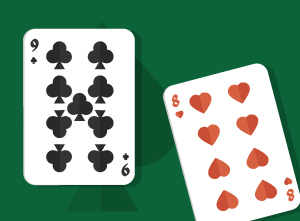 Playing Pocket Nine-Eight in Texas Holdem