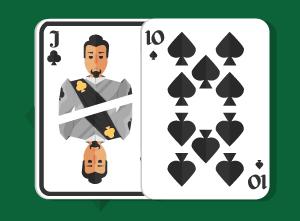 Playing Pocket Jack-Ten in Texas Holdem