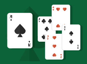Playing A5, A4, A3, and A2 in Texas Holdem