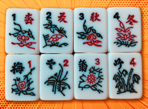 Different Types and Variations for the Game of Mahjong