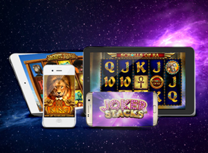 Slots and table games for mobile devices