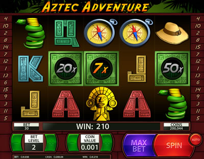 Spiele Aztec Adventure - Video Slots Online