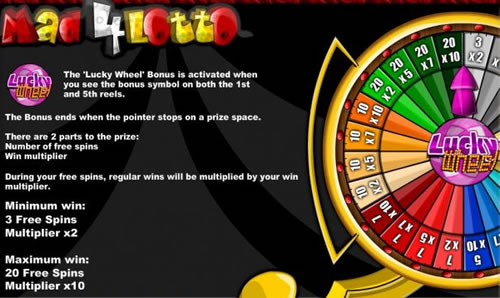 Spiele Mad 4 Lotto - Video Slots Online