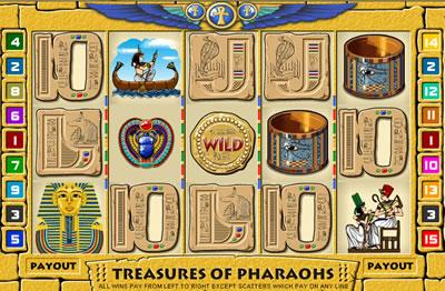 Treasures pharaohs