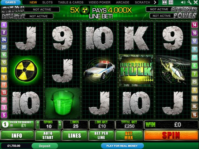 Free Hulk Slots Games