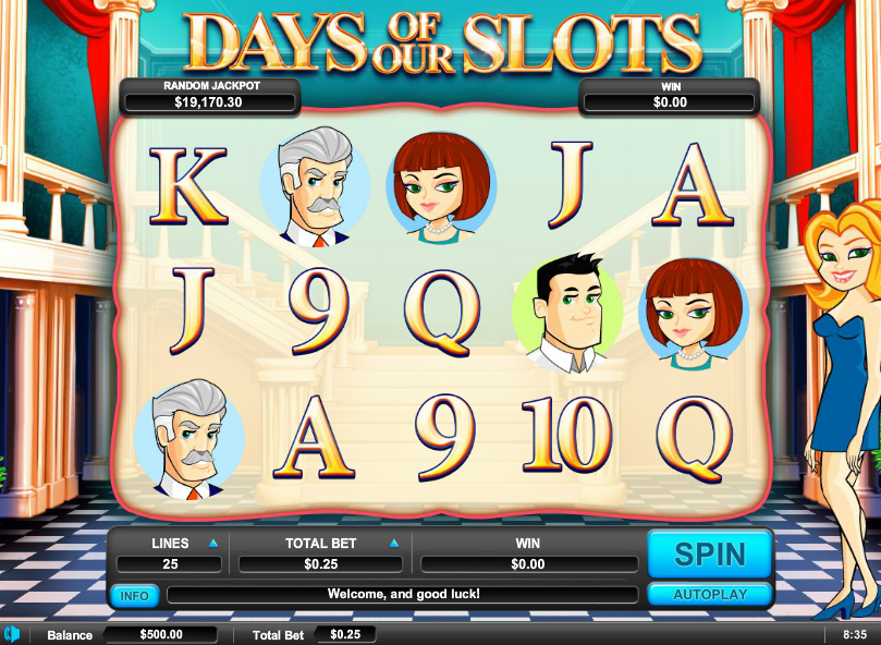 Arrows edge days of our slots