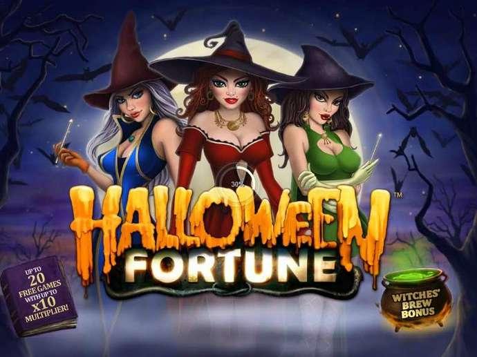 halloween fortune screenshot