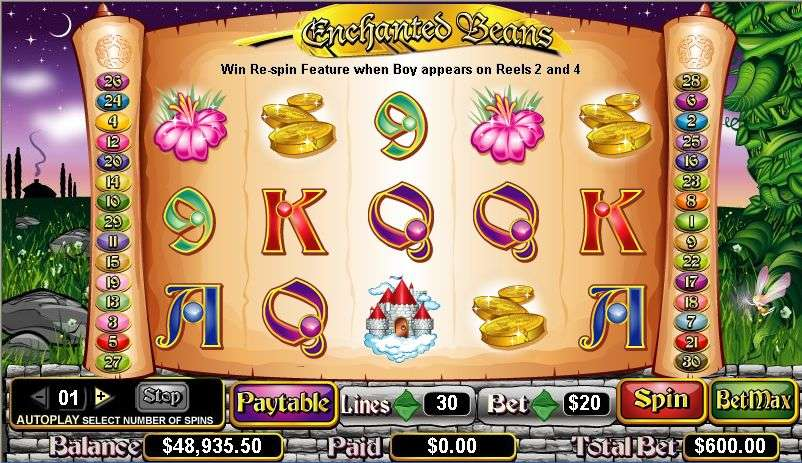 Enchanted Beans Slot Machine - Play Free Casino Slots Online