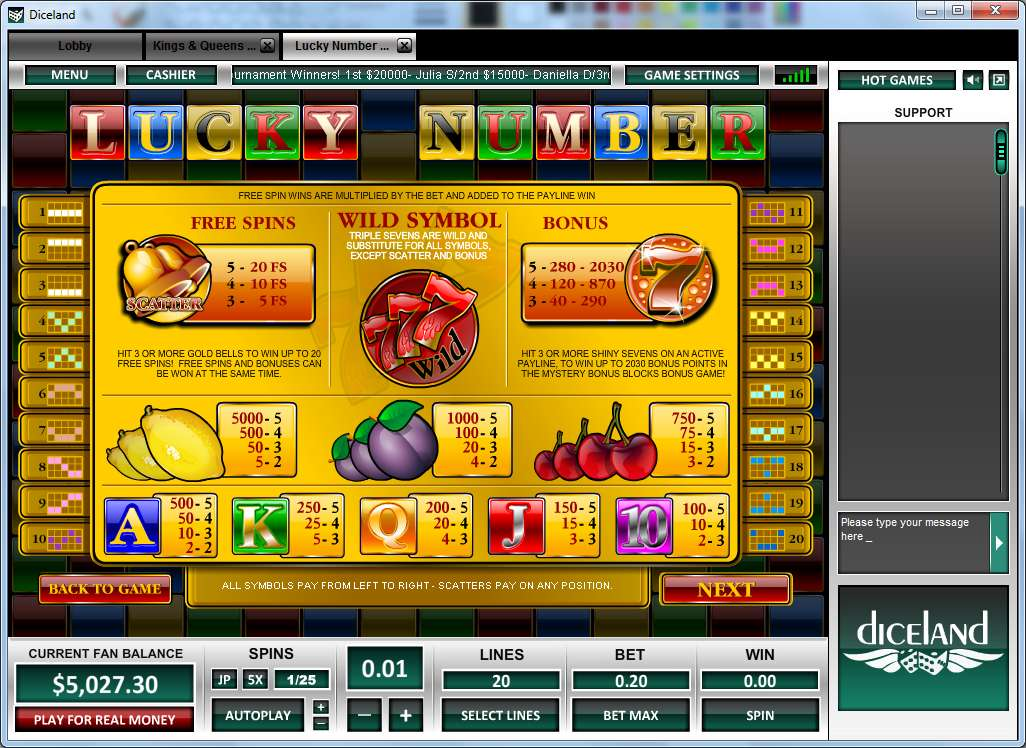 Spiele Lucky Number - Video Slots Online