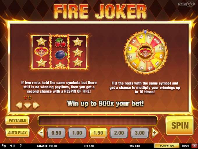 Spiele Fire Joker - Video Slots Online