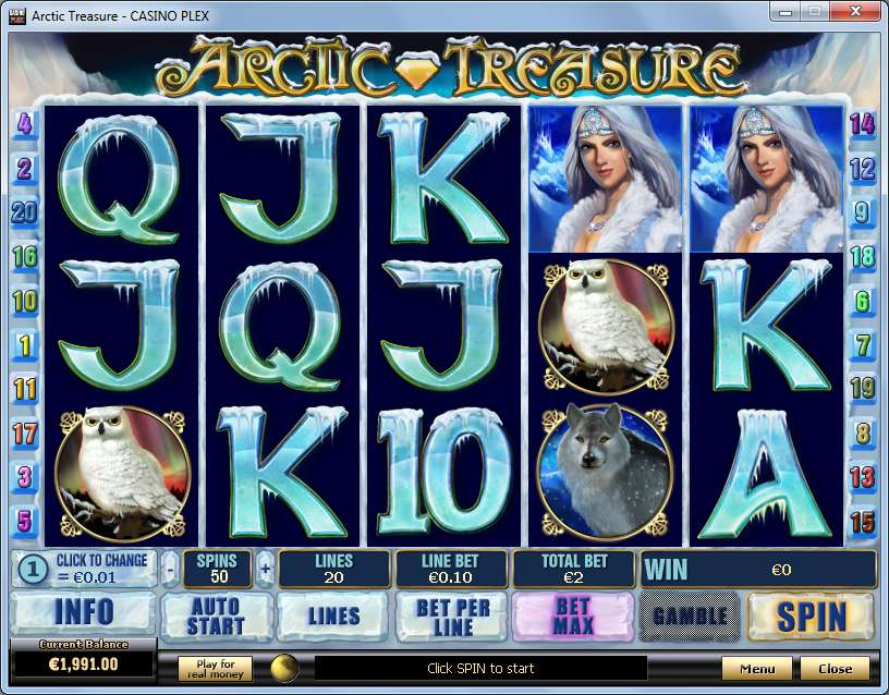 Spiele Artic Treasure - Video Slots Online