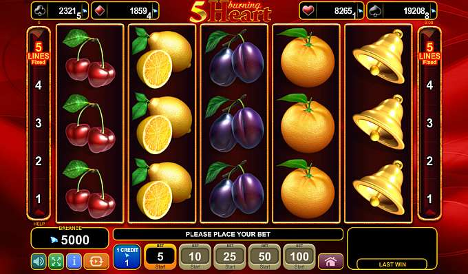 Book 5 burning heart egt casino slots deluxe omania free