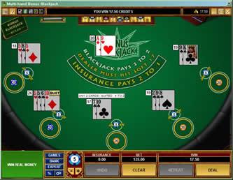 Bonus blackjack mh