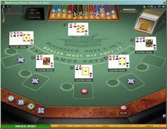 Bonus blackjack mh gold