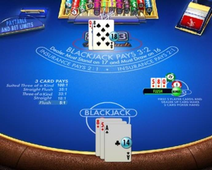 21 plus 3 blackjack how do you win at video poker