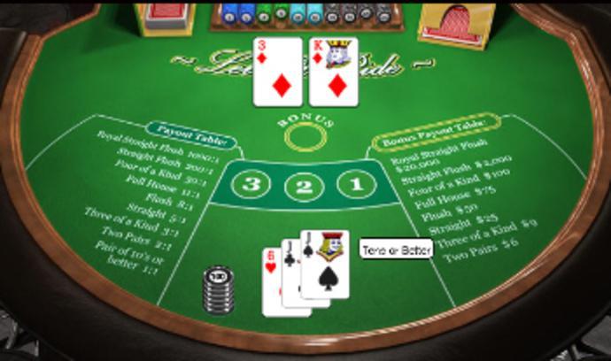 Let It Ride Poker