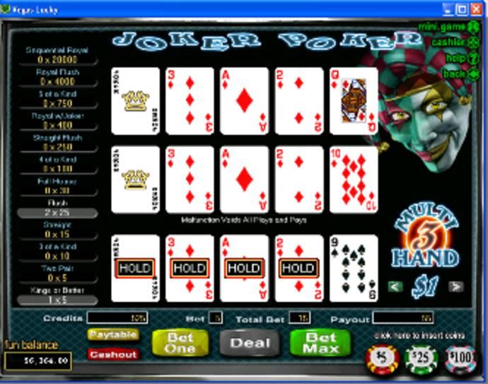 Spiele Joker Poker (RTG) - Video Slots Online