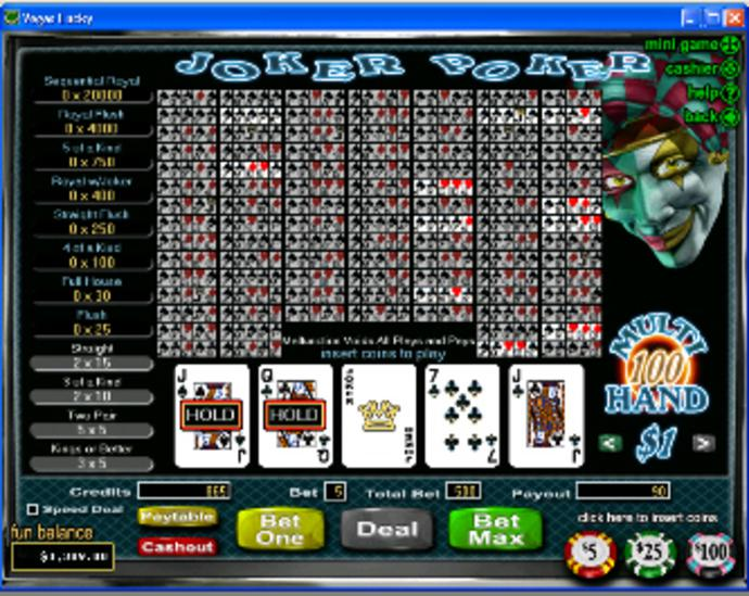 Spiele Joker Poker - 10 Hands - Video Slots Online