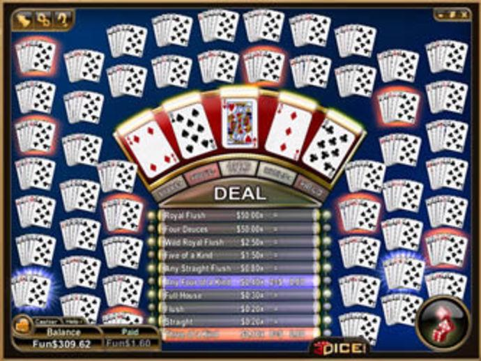 Loose deuces wild video poker jeux roulette payant